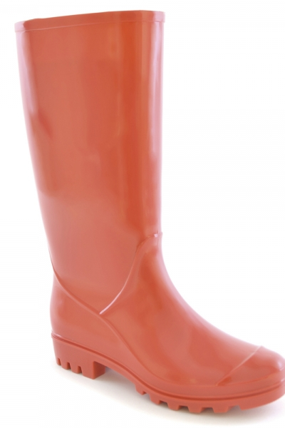 Ladies Coral PVC Welly