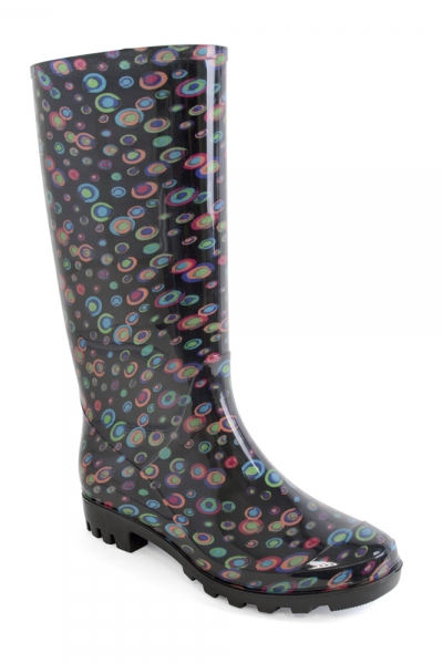 Funky Circles PVC Wellies