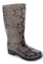 Funky Snake pvc Welly