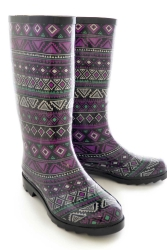 Funky Aztec Welly