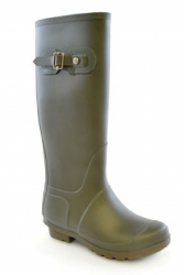 Ladies Classic Green Welly